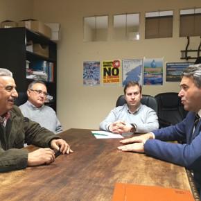 El Diputado en Cortes por Toledo Ramón-Luis Molinary presenta una propuesta para la modernización de Regadíos del Canal Bajo del Alberche