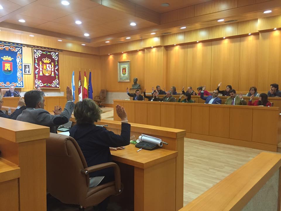 Pleno Talavera de Marzo 2016