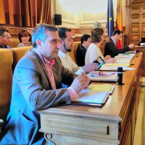 Luz verde a las dos mociones de Ciudadanos Toledo en el Pleno de Diputación