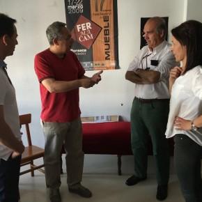 """Antonio Santolaya: """"Crear empleo de calidad pasa por respaldar a los empresarios y autónomos de la provincia"""""""