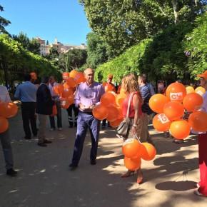 """Antonio Santolaya: """"Una campaña a pie de calle para dialogar con el ciudadano y defender lo que es nuestro""""."""