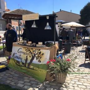 Antonio López asiste a la primera muestra gastronómica celebrada en Illescas