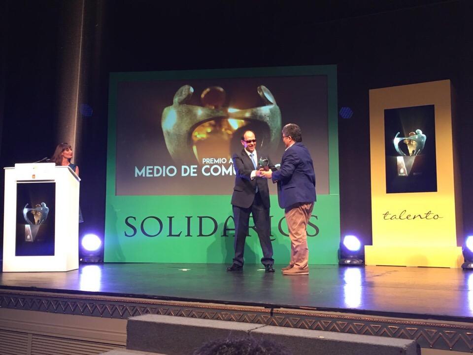 Ciudadanos C's asiste a la entrega de los Premios Solidarios 2016 de la ONCE