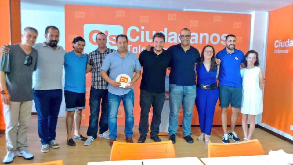 Nueva Junta Directiva en la Agrupación Local de Ciudadanos C's en Talavera de la Reina