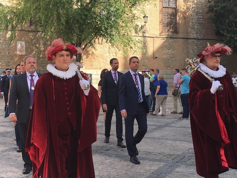 Esteban Paños participa en los actos celebrados en honor a la Virgen del Sagrario, patrona de Toledo