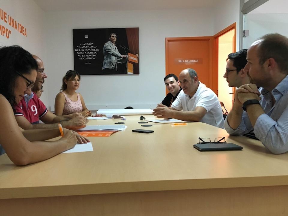 Se constituye la Agrupación de Ciudadanos (C´s) en Bargas