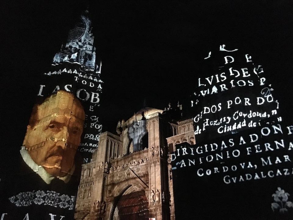 El grupo municipal de Ciudadanos en el Ayuntamiento de Toledo asiste a la inauguración del espectáculo Luz Toledo 2016