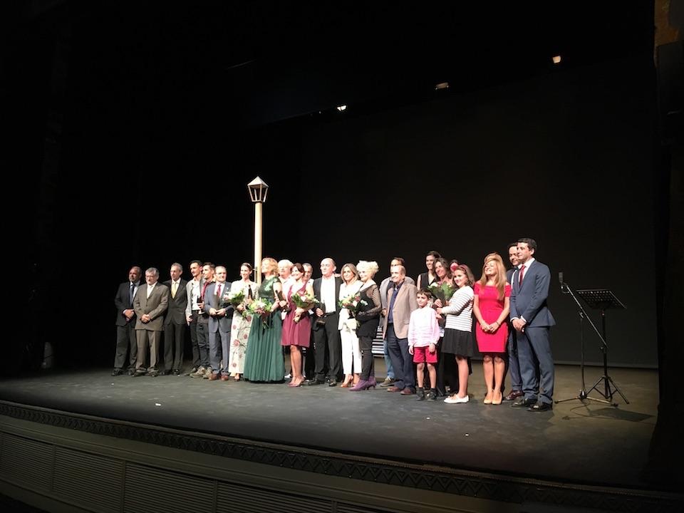 Esteban Paños asiste a la XXIV Gala de entrega de premios Teatro de Rojas
