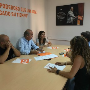 Antonio Santolaya, nuevo coordinador de Ciudadanos (C´s) Toledo Ciudad
