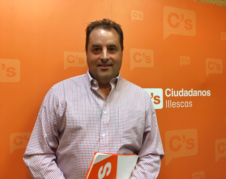Miguel Millán, nuevo coordinador de la agrupación de Ciudadanos (C's) Illescas