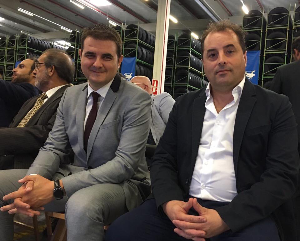 Ciudadanos (C's) Illescas asiste a la inauguración del centro logístico de Michelin