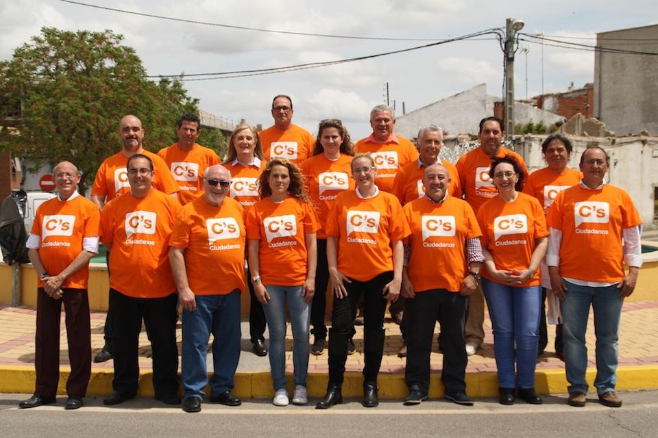 La  Agrupación de Ciudadanos en Casarrubios del Monte ha quedado constituida y comienza a trabajar