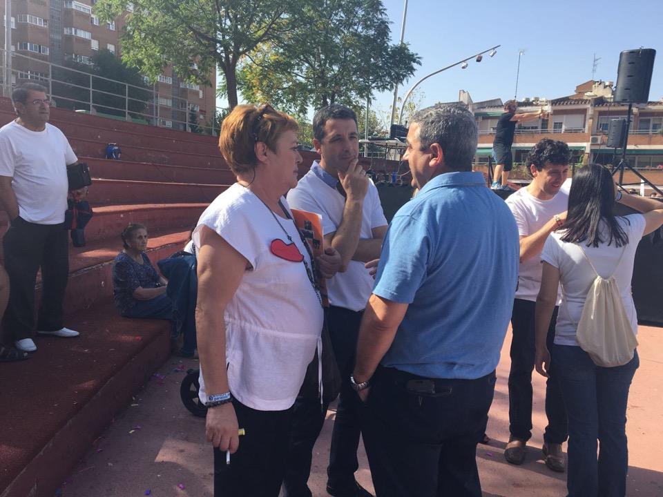Esteban Paños participa en los actos organizados por APACE Toledo con motivo del Día Mundial de la Parálisis Cerebral