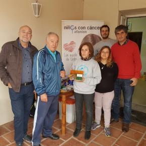 Los concejales de Ciudadanos (C´s) Nambroca presentes en la paella solidaria contra el cáncer infantil