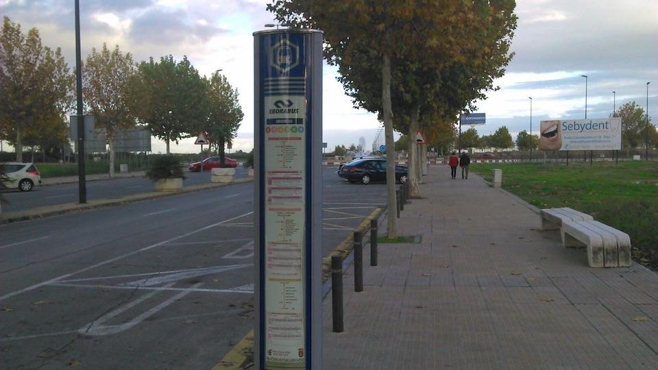 Ciudadanos (C's) Talavera solicita la instalación de una marquesina en la parada de la salida de Urgencias del Hospital de Nuestra Señora del Prado