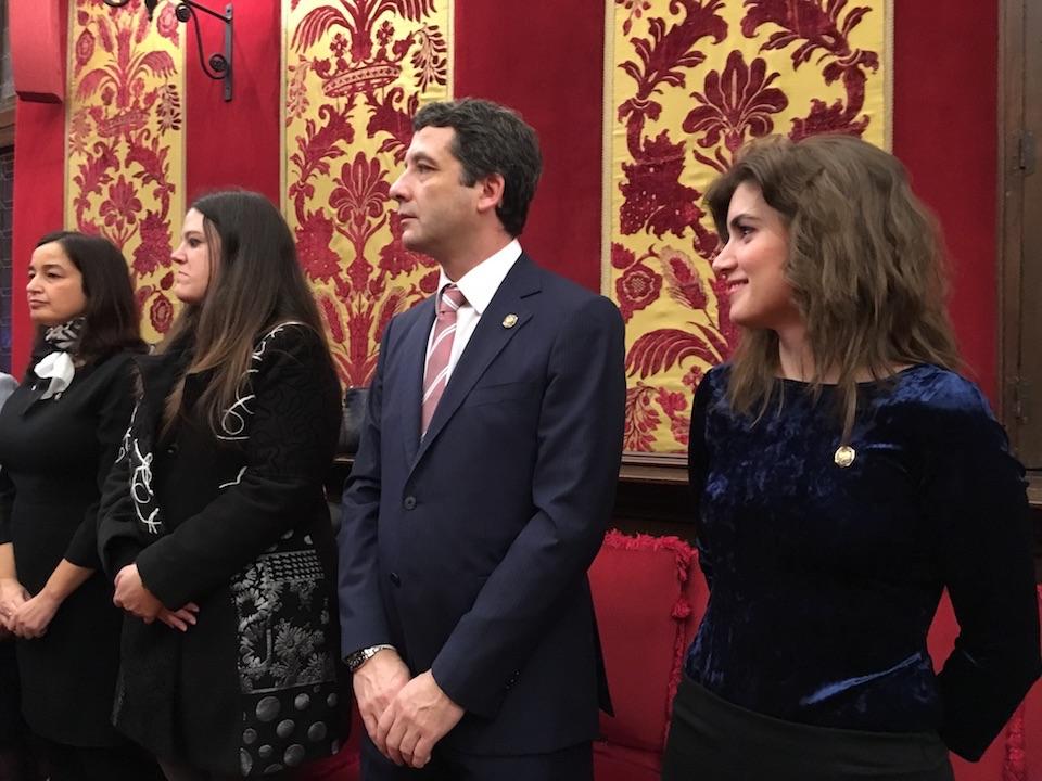 Esteban Paños e Isabel M. de Eugenio asisten al acto conmemorativo del XXX Aniversario de la declaración de Toledo como Patrimonio de la Humanidad
