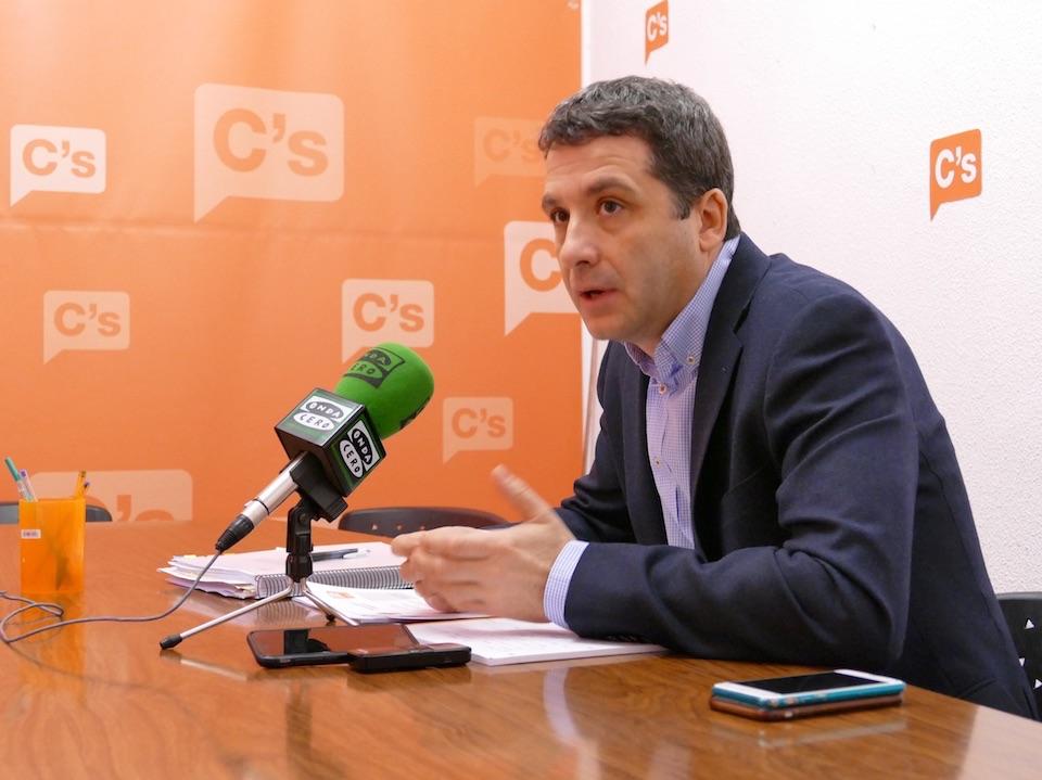 El Grupo Municipal de Ciudadanos (C's) en el Ayuntamiento de Toledo presenta quince enmiendas parciales a los presupuestos de 2017