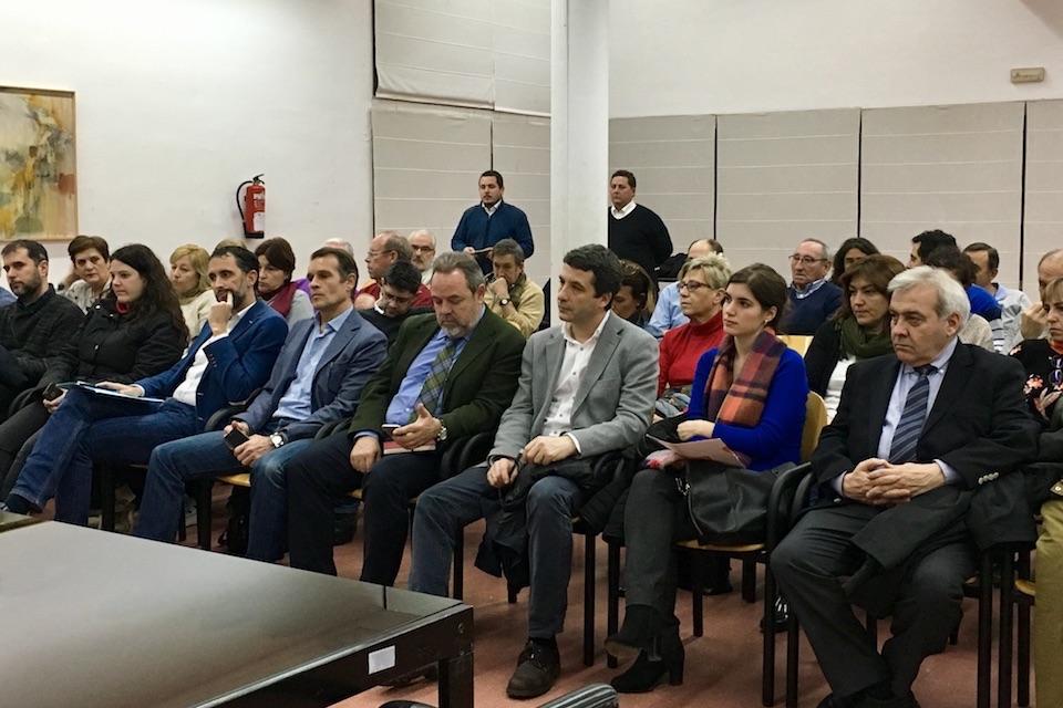 Los concejales de Ciudadanos (C's) Toledo Ciudad asisten a la constitución de los nuevos Consejos de Participación de Santa Bárbara y Santa María de Benquerencia