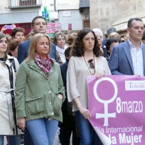 Ciudadanos Cs Toledo Ciudad, en los actos organizados con motivo del Día de la Mujer en Toledo