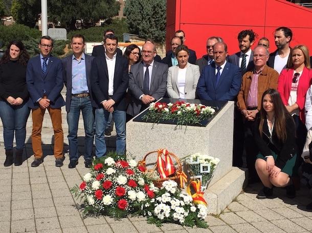 Esteban Paños participa en el homenaje de Toledo a las víctimas del 11-M