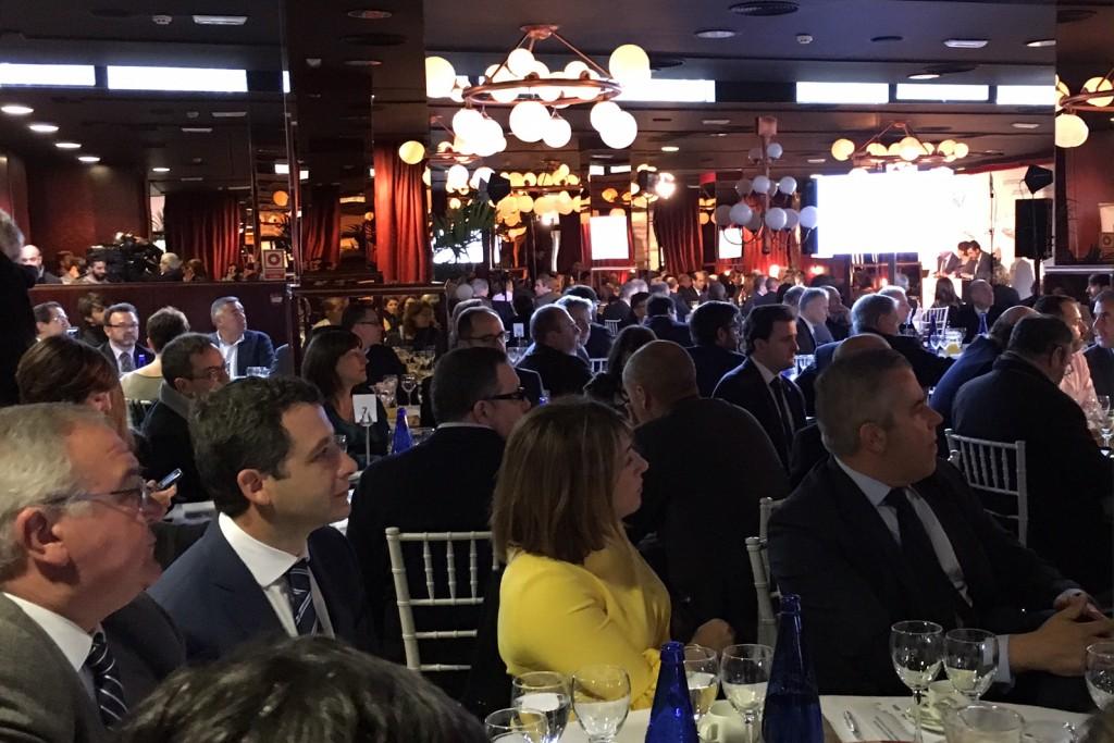 """Esteban Paños asiste al desayuno informativo """"La recuperación económica  de Castilla- La Mancha, un reto de todos"""""""