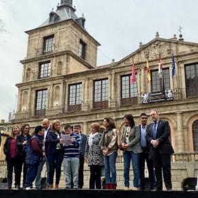 Esteban Paños asiste a los actos organizados con motivo del Día Mundial  del Síndrome de Down