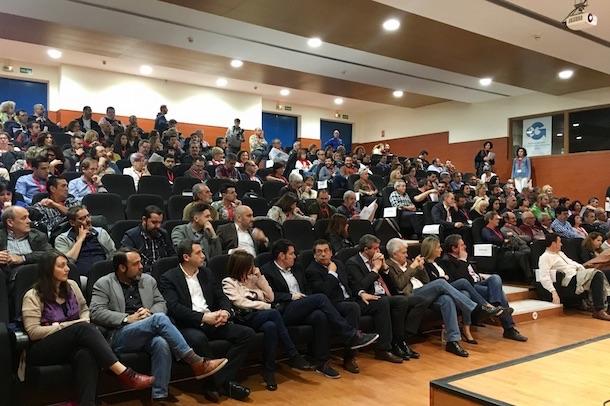 El portavoz de Cs en Toledo ha estado presente en el acto de inauguración del XI Congreso de la organización sindical en la provincia