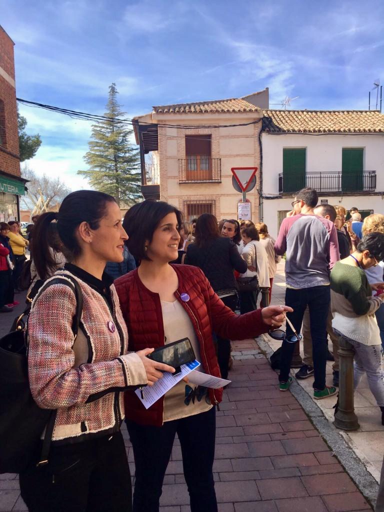 Ciudadanos Cs Sonseca muestra su apoyo en el Día Internacional de la Mujer