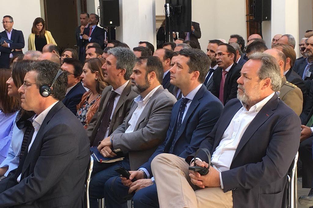 Esteban Paños asiste a la presentación del proyecto Puy du Fou en Toledo