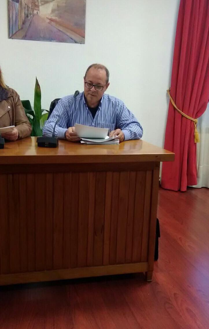"""Rafael Rivera """"Se frenan las propuestas aprobadas en Pleno que son iniciativa de la oposición y se dan rápido impulso a las del equipo de gobierno"""""""