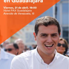 Encuentro Ciudadano con Albert Rivera en Guadalajara