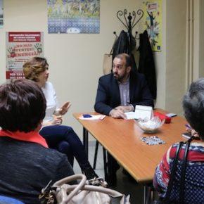Cs C-LM se reúne con la Asociación de Víctimas contra los malos tratos en Talavera de la Reina