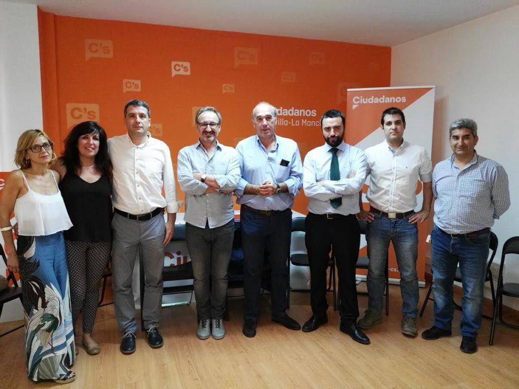 La agrupación de Ciudadanos Toledo Ciudad estrena nueva junta directiva
