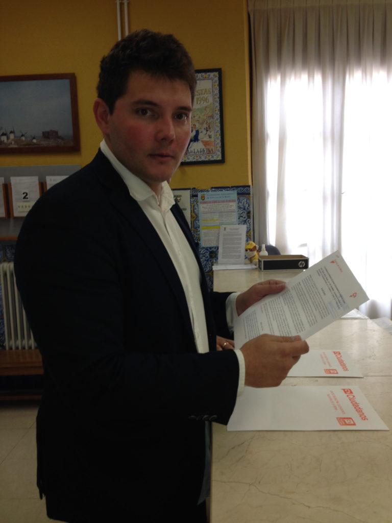 Cs Talavera solicita al Equipo de Gobierno la documentación completa relativa al proceso de contratación de un profesor de Educación Física por el Ayuntamiento de Talavera de la Reina