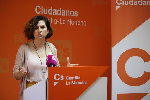 """Orlena De Miguel (Cs): """"El Gobierno de García-Page debe pasar de los anuncios y las promesas a los hechos"""""""