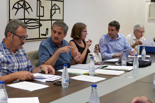 Esteban Paños, en la reunión del Consejo del Pacto de Toledo por el Tajo
