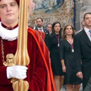 Los concejales de Cs en Toledo participan en la procesión del Corpus Christi