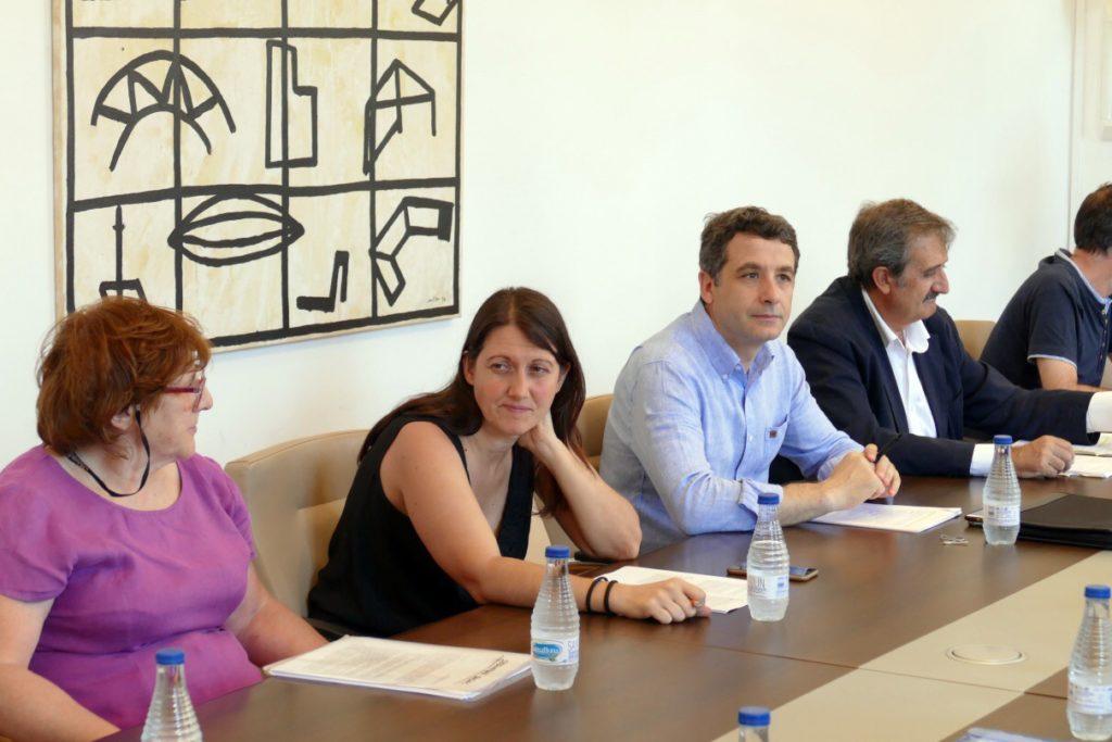 """Esteban Paños: """"El Tajo estaba ahí antes que la ciudad y debemos tenerlo en cuenta a la hora de elaborar el nuevo proyecto de integración"""""""