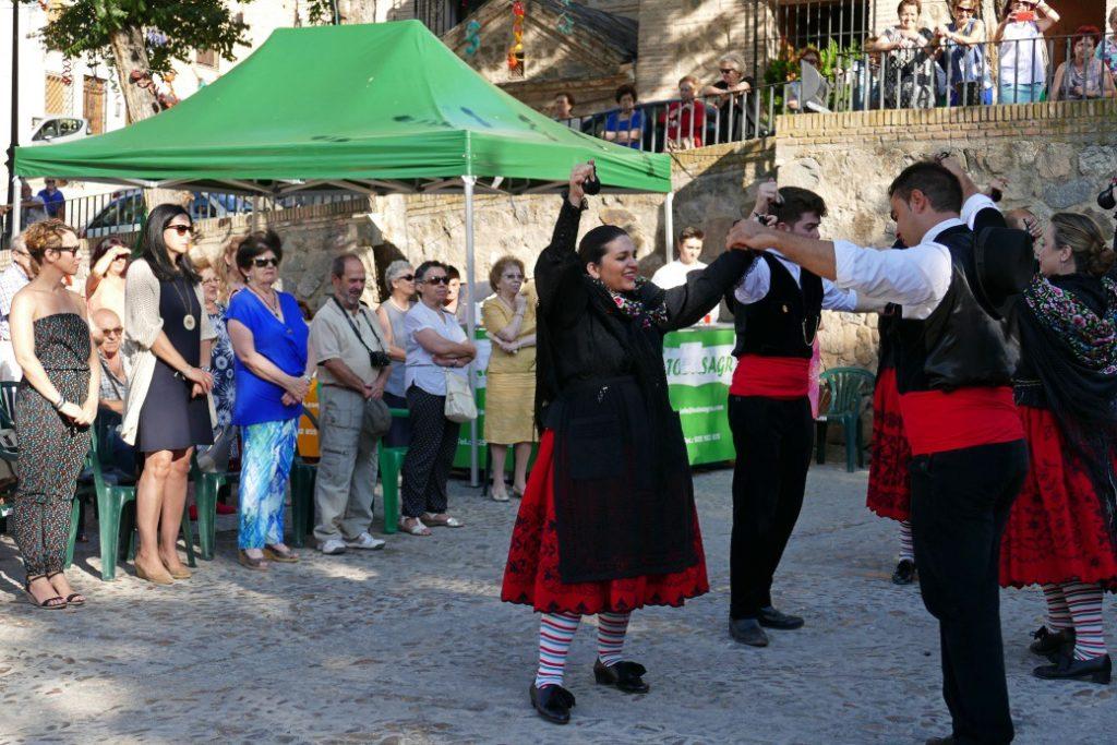 Los concejales de Cs Toledo Ciudad, en las fiestas de La Cornisa y Azucaica