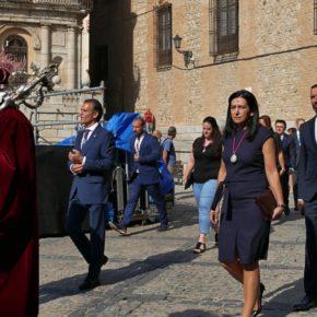 Araceli de la Calle, en la inauguración de las Ferias y Fiestas de Agosto en Toledo