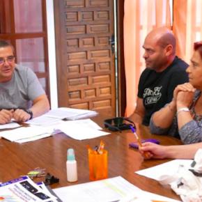 Esteban Paños se reúne con miembros del comité de empresa de Limasa