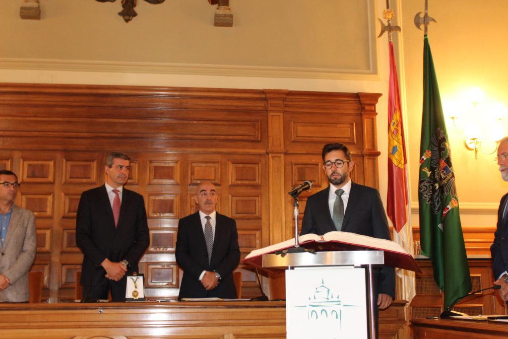 """Luis Martín """"continuaremos trabajando, como hasta ahora, por los municipios y los ciudadanos de la provincia"""""""