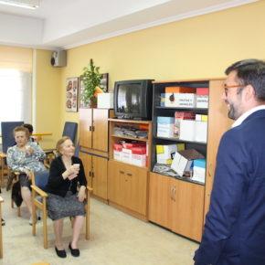 """El Diputado Provincial de Cs, Luis Martín, ha asegurado en su visita a la Residencia Asistida San José que """"centros como este son nuestra prioridad"""""""