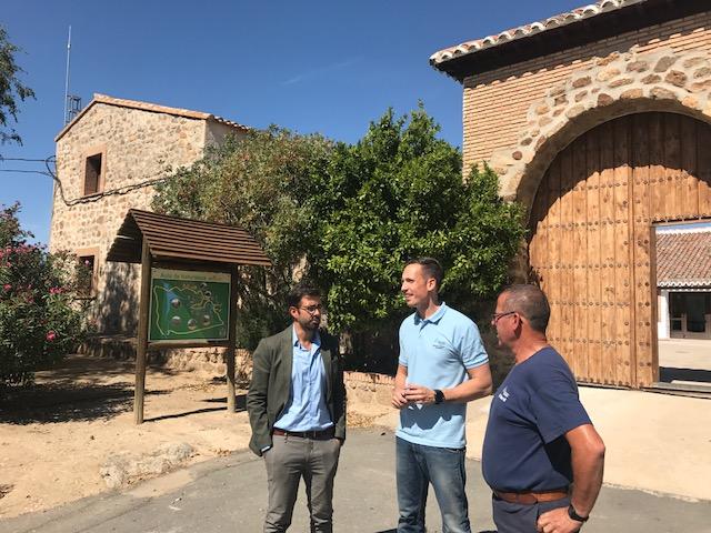 """Luis Martín: """"El Borril se ha convertido en un referente en educación ambiental con más de 13.000 visitas en la temporada 2016-2017"""""""