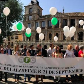 Ciudadanos Toledo, en la suelta de globos con motivo del Día Mundial del Alzheimer
