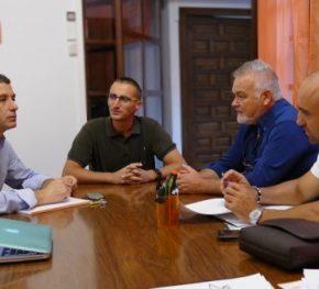 Esteban Paños se reúne con representantes del Sindicato de Policía Local
