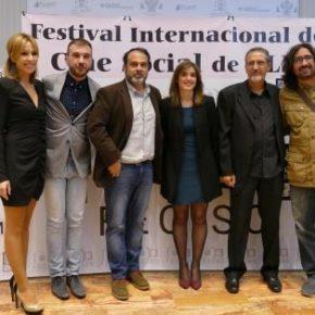 Isabel M. de Eugenio, en la gala del XIV Festival de Cine Social de CLM