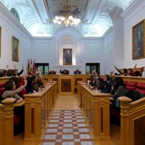 El Pleno de Toledo aprueba por unanimidad la moción de Ciudadanos para acometer mejoras en la plaza de Reino Unido