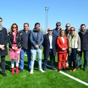 Cs Nambroca celebra la inauguración del nuevo campo de fútbol municipal