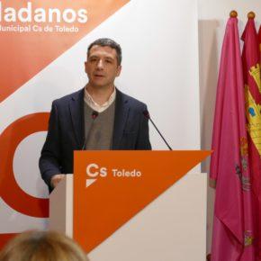 """Esteban Paños: """"Desde Cs estamos muy satisfechos de servir de inspiración al equipo de gobierno de Milagros Tolón"""""""